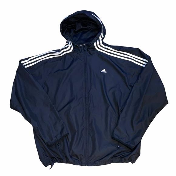 Adidas Zip Up Windbreaker